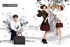 2010 CARPISA handbags Italy (spread Vanity Fair)
