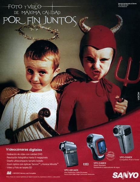 2007 SANYO digital video cameras: Spain (Dominical)