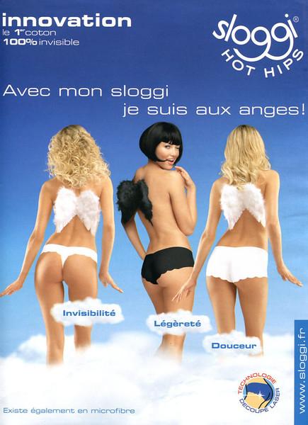 2010 SLOGGI underwear  France (Grazia)