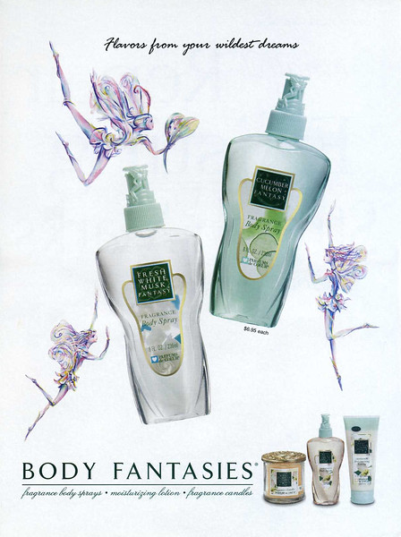 2007 PARFUMS DE COEUR Body Fantasies: US