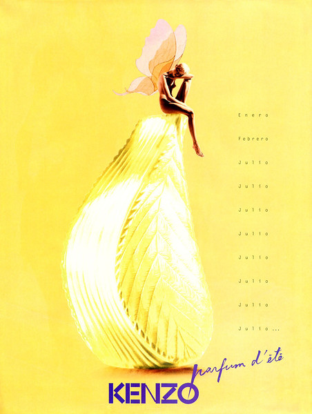 KENZO Parfum d'Ete fragrance 1996 Spain