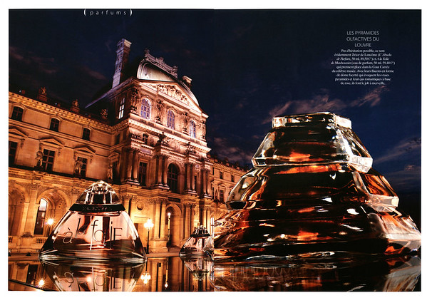 2014 MAUBOSSIN À la Folie - LANCÔME Trésor L'Absolu de Parfum France spread (advertorial)