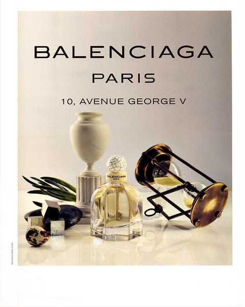 2010 BALENCIAGA Paris fragrance France