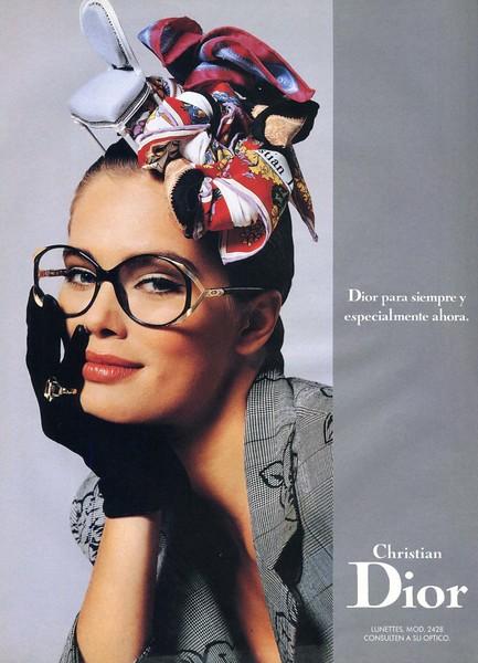 1988 CHRISTIAN DIOR spectacles Spain (Telva)