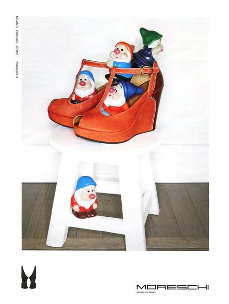 2012 MORESHI shoes Italy (Grazia)