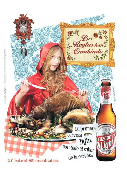 2007 CRUZCAMPO Light beer Spain (Cosmopolitan)