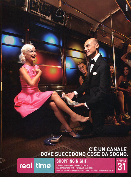 2011 CANALE 31 Shopping Night TV show Italy (A)