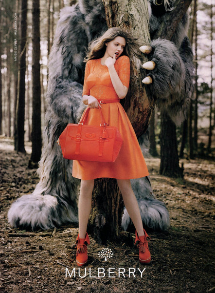 2012 MULBERRY Fall-Winter fashion US (Elle) fairy tales