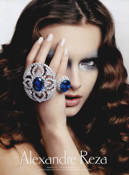 2008 ALEXANDRE REZA jewellers France (Vogue)