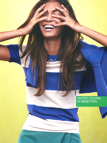 2015 UITED COLRS OF BENETTON clothng Italy (Vanity Fair) featuring Joan Smalls