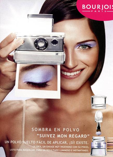 2008 BOURJOIS make-up Spain (Telva)