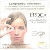 2016 F  ROCA jewellers Spain (La Vanguardia newspaper) small format