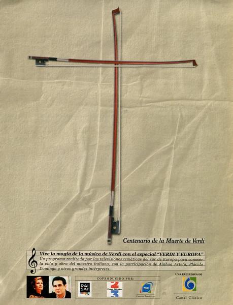 2001 CANAL CLÁSICO radio (Giuseppe Verdi death anniversary) Spain (La Vanguardia Magazine)