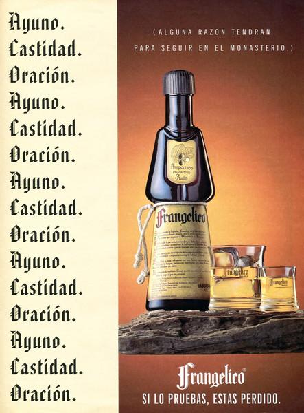 1995 FRANGELICO liquor Spain (El País Semanal)