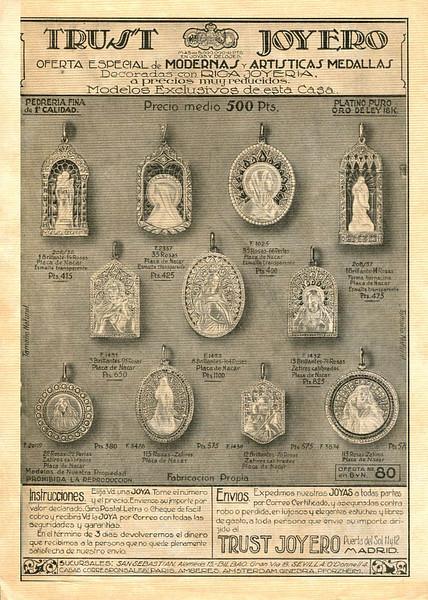 1926 TRUST jewellers Spain (Blanco y Negro)