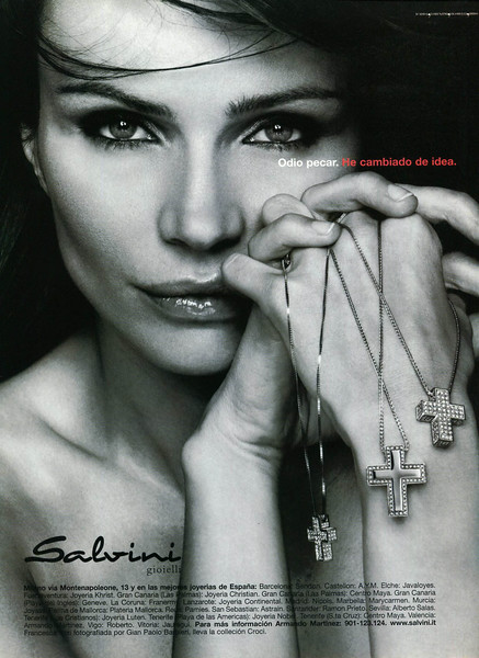 2001 SALVINI jewellery Spain (Elle)