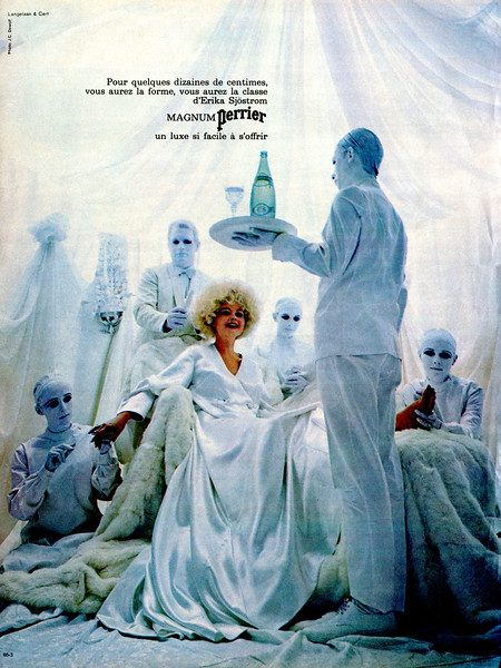 1967 PERRIER mineral water: France (Marie Claire)