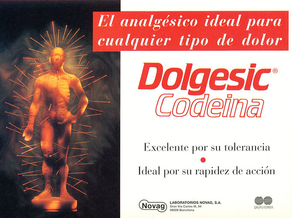 1996 DOLGESIC Codeina medicine: Spain (half page)