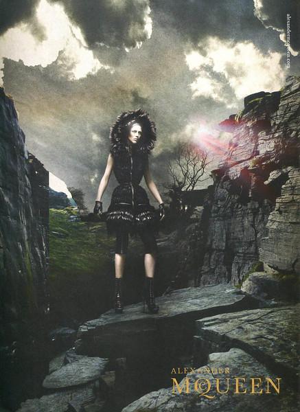 2011 ALIXANDER MCQUEEN clothing: UK (Harper's Bazaar)