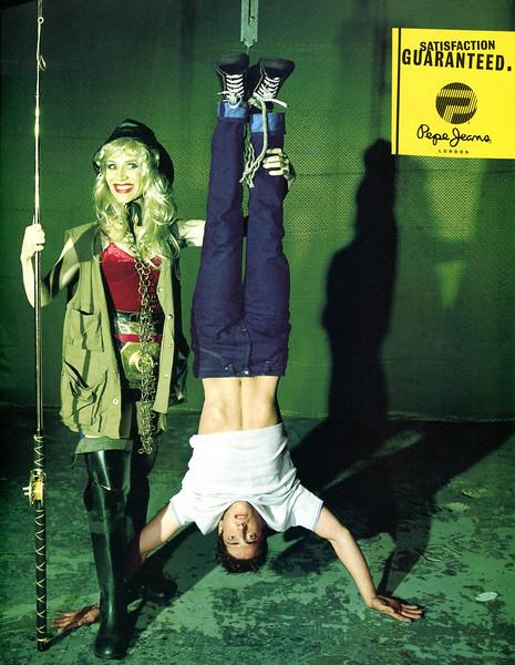 1996-1997 PEPE JEANS Spain (Elle TopModel)