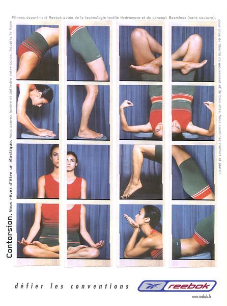 2001 REEBOK sportswear France (Marie Claire)