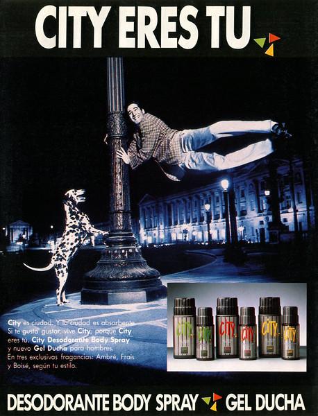 1988 CITY deodorants & shower gels Spain