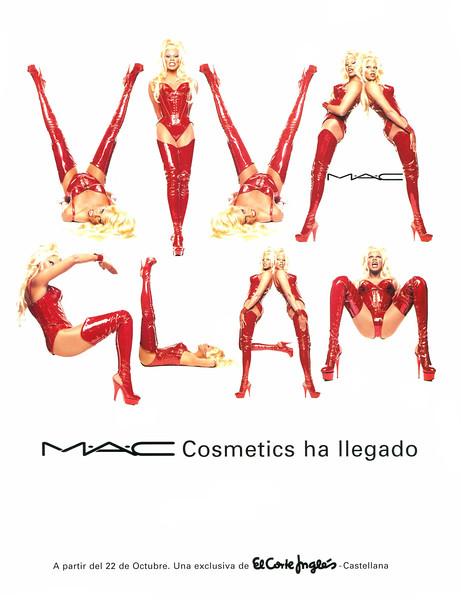 1998 MAC Viva Glam make up Spain (Cosmo) featuring Ru Paul