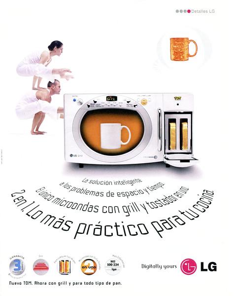 2003 LG microwave owens Spain (El País Semanal)