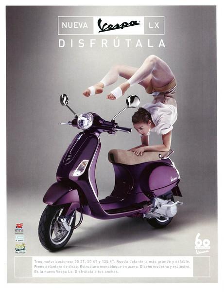 2006 VESPA motorcycles Spain (Vogue)