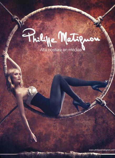 2008 PHILIPPE MATIGNON hosiery Spain (Elle)