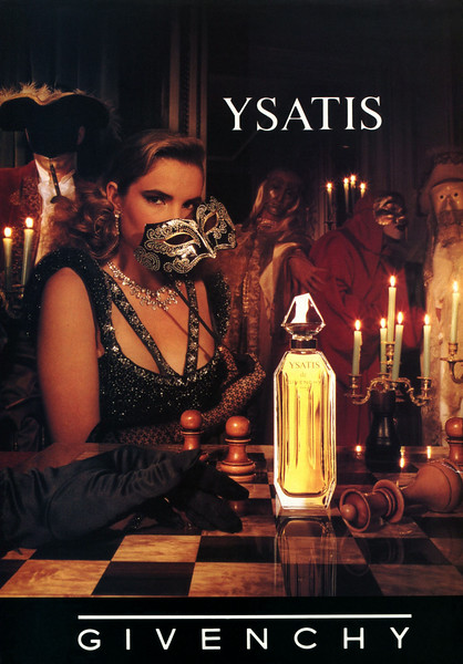 1988 GIVENCHY Ysatis perfum UK