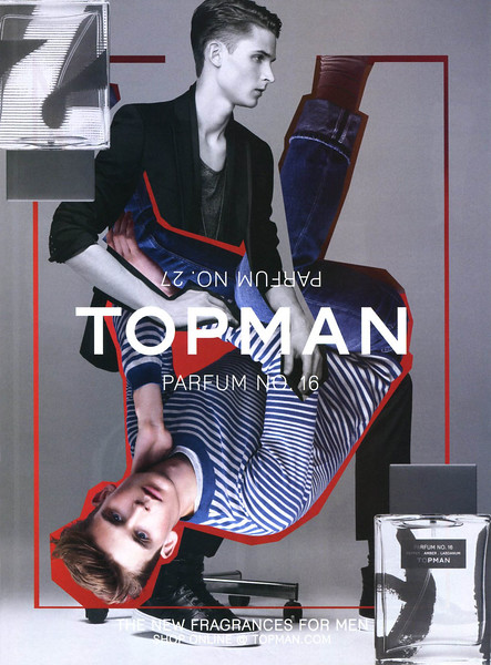 2011 TOPMAN colognes No  27 &16 UK (Esquire)
