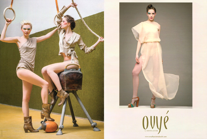 2013 OVYÉ clothing: Italy (spread Glamour)