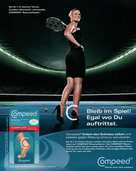 2011 COMPEED plasters Germany (In Style)