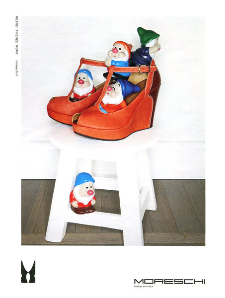 2012 MORESHI shoes Italy (Grazia)