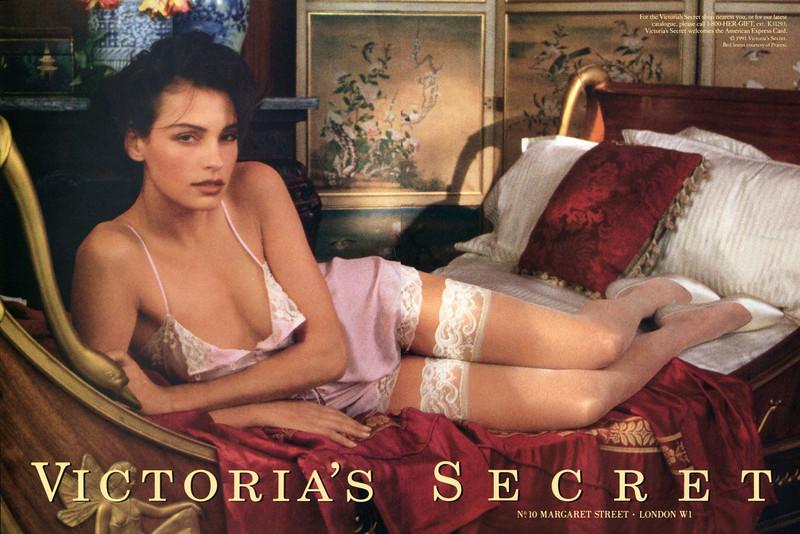 1991 VICTORIA'S SECRET lingerie US (spread House & Garden)