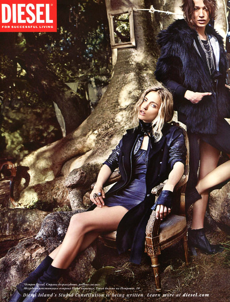 2011 DIESEL fal-winter clothing Russia (Vogue)