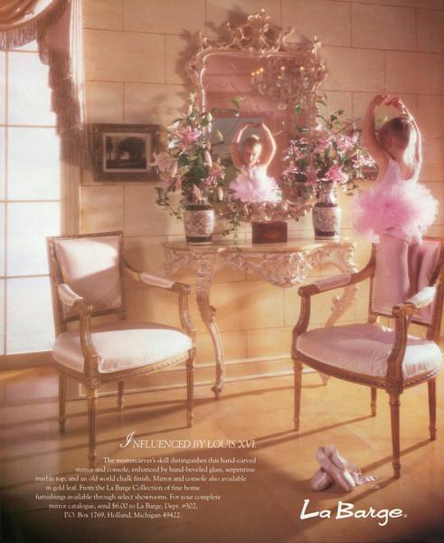 1990 LA BARGE furniture US (House & Garden)