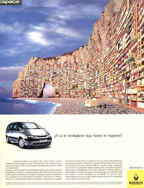 1999 RENAULT Espace cars Spain (Vogue)