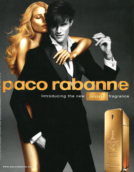 2014 PACO RABANNE 1 Millon Intense fragrance Russia