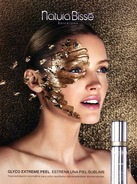 2016 NATURA BISSÉ Glyco Extrene Peel skin treatment ad Spain (Glamour)