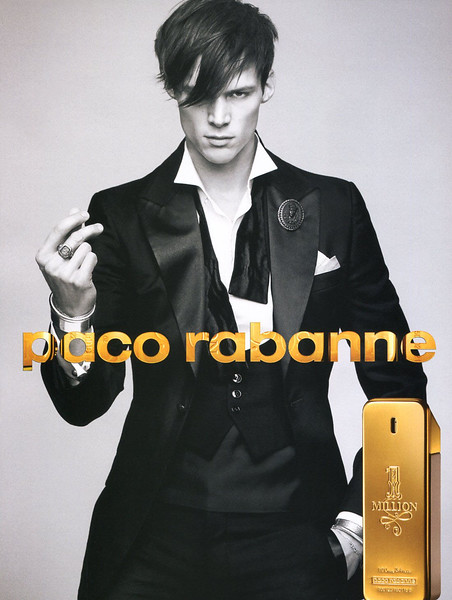 2011 PACO RABANNE 1 Millon fragrance  Spain