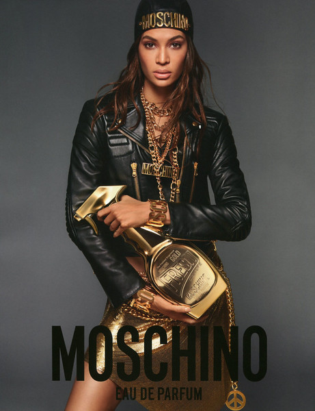 2018 MOSCHINO Gold Fresh Couture fragrance :Italy (Grazia)