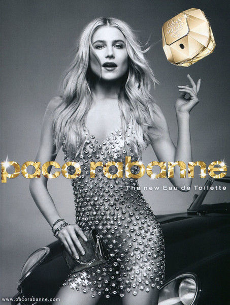 2012 PACO RABANNE Lady Million Eau de Toilette: Italy (Elle)