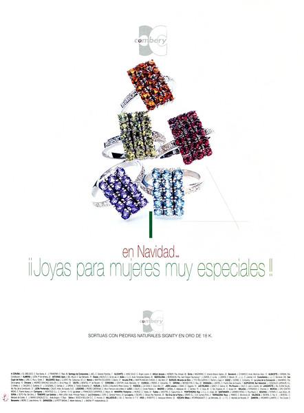 2003 COMBERY jewellery Spain (Elle)