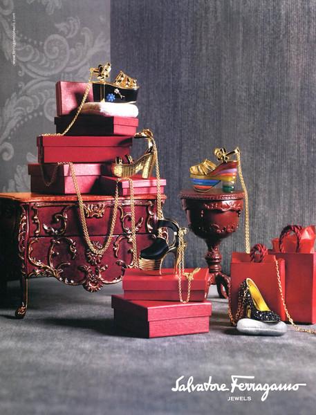 2012 FERRAGAMO jewellery 2012 Italy (Amica)