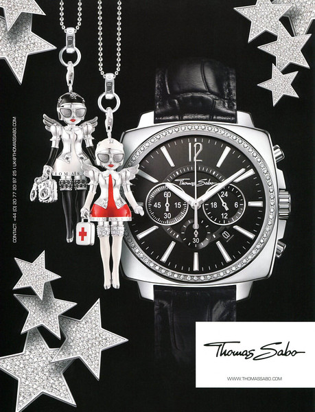 2010 THOMAS SABO silver jewellery & watches UK (Vogue)