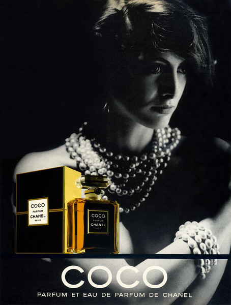 1989 CHANEL Coco fragrance: Spain