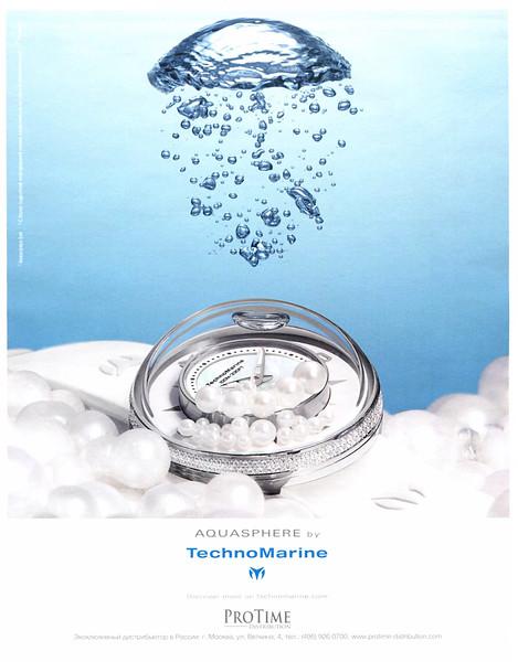 2014 TECHNO MARINE watches Russia (Marie Claire)