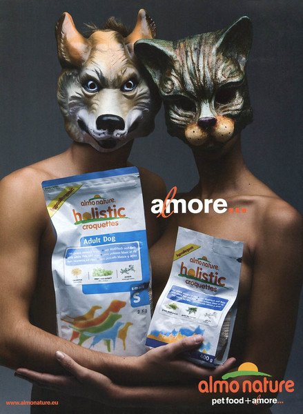 2011 ALMONATURE holistic pet food Italy (Vanity Fair)